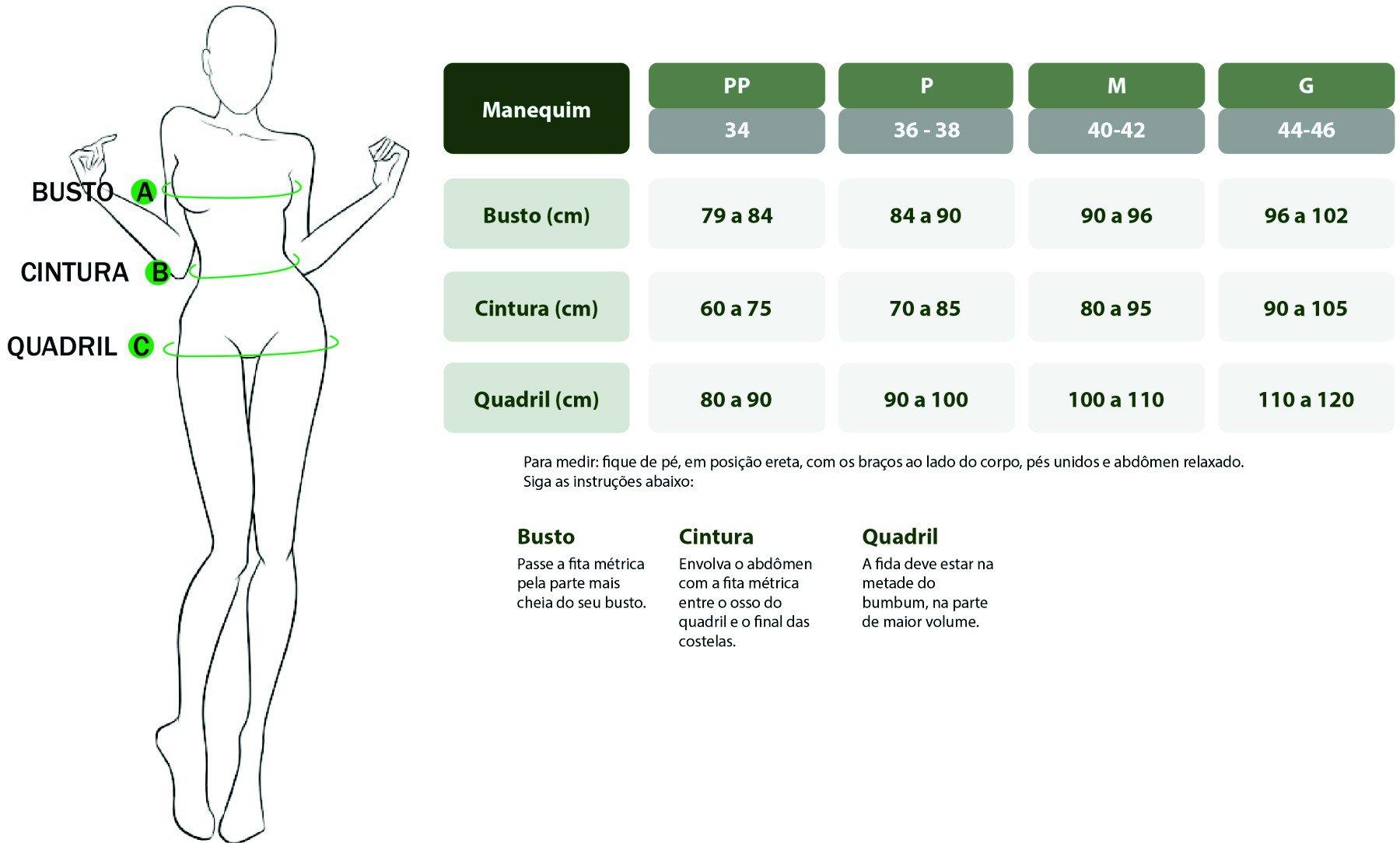 Tabela de Medida