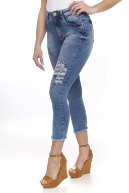311900 Calça Jeans Cropped Destroyed (lateral 02)
