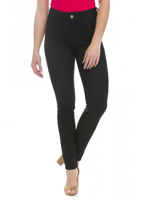 212930 Calça Jeans Feminina Skinny (Frente)