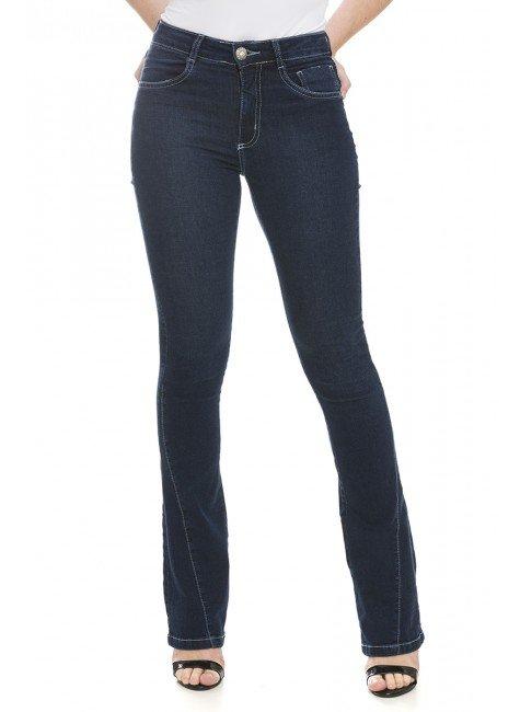 111901 Calça Jeans Feminina Flare (Frente)