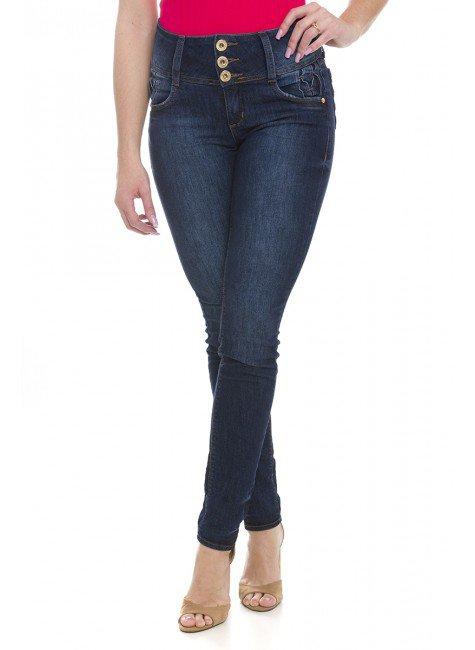 212861 Calça Jeans Feminina Skinny (Frente2)