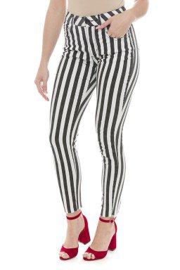 212931 Calça Jeans Feminina Skinny Listrada (Frente2)