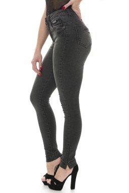 212779 Calça Jeans Feminina Skinny (Lateral)