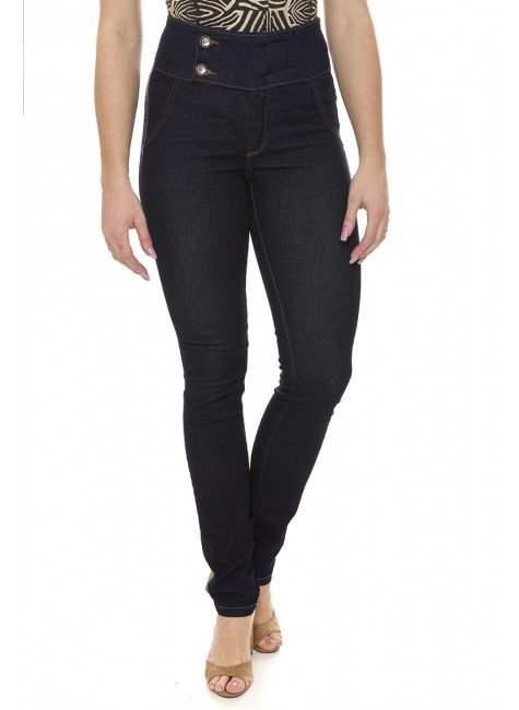 212809 Calça Jeans Feminina Skinny (Frente)