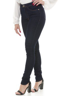 212802 Calça Jeans Feminina Skinny (Lateral)