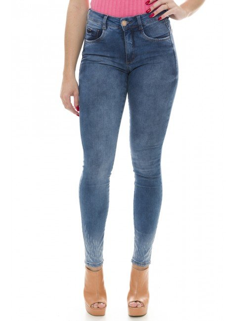 212925 Calça Jeans Feminina Skinny (Frente)
