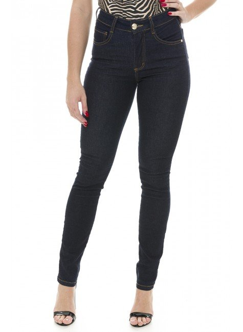 212909 Calça Jeans Feminina Skinny (Frente)