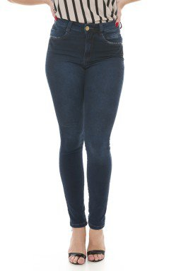 212933 Calça Jeans Feminina Skinny (Frente)