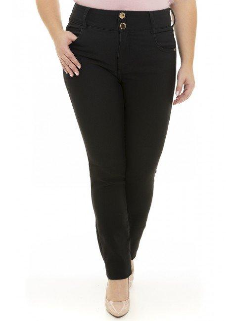 2119AR04 Calça Jeans Feminina Skinny Plus Size  (Frente)