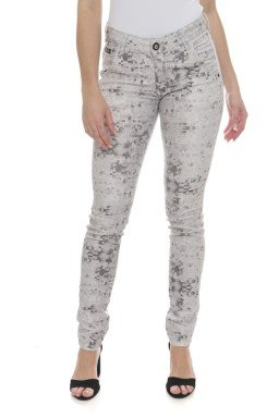 212940 Calça Jeans Feminina Skinny Paete  (Frente2)