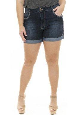 5119AR02 Shorts Jeans Feminina Plus Size  (Frente)