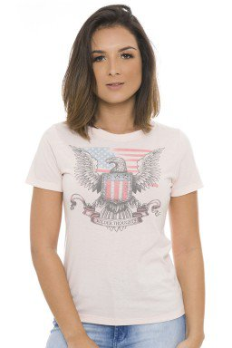 44211902 T-shirt Feminina Estampada  (Frente)