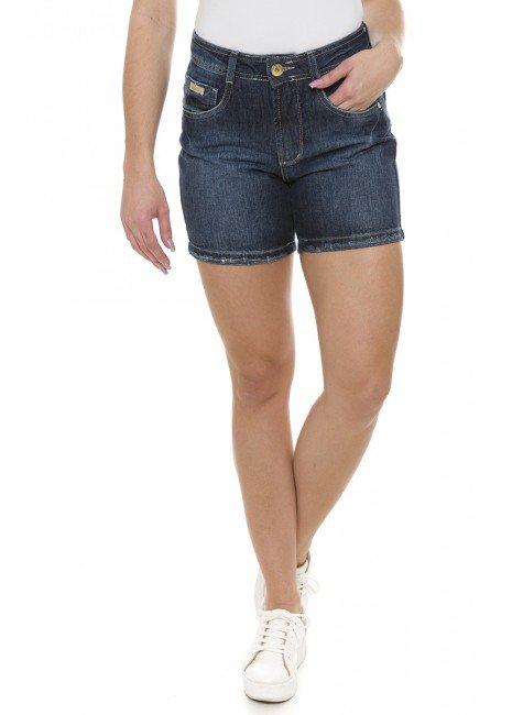 511817 Bermuda Meia Coxa Jeans Feminina (Frente)