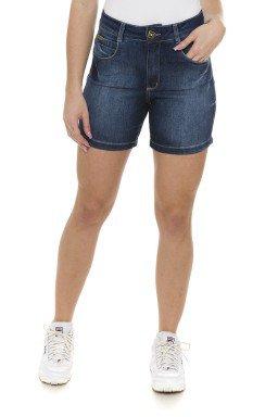 511832 Bermuda Meia Coxa Jeans Feminina (Frente)