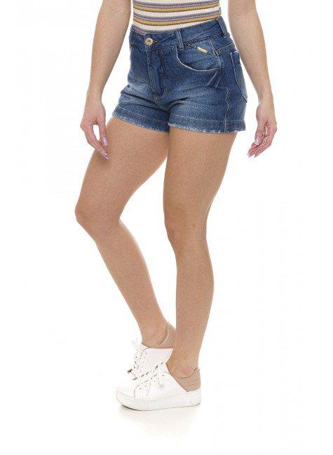 611900  Shorts Jeans Feminino (Frente2)