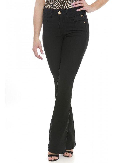112910 Calça Jeans Feminina Flare (Frente2)