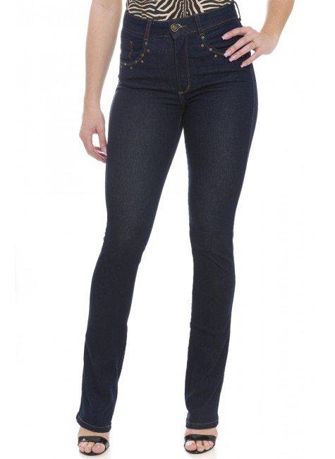 111903 Calça Jeans Feminina Boot Cut  (Frente)