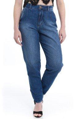 112904 Calça Jeans Feminina Mom  (Frente)