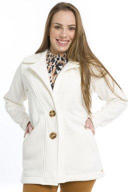 44512918 Blazer Moleton Feminino Marrom  (Frente)