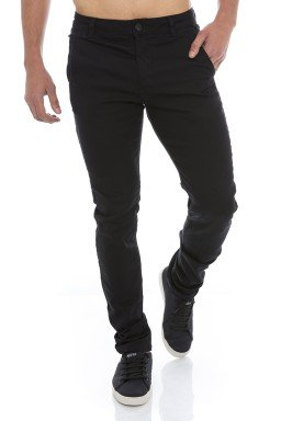 122908 Calça Jeans Masculina Esporte Fino (Frente)