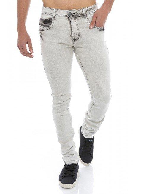 122806 Calça Jeans Skinny Masculina (Frente)