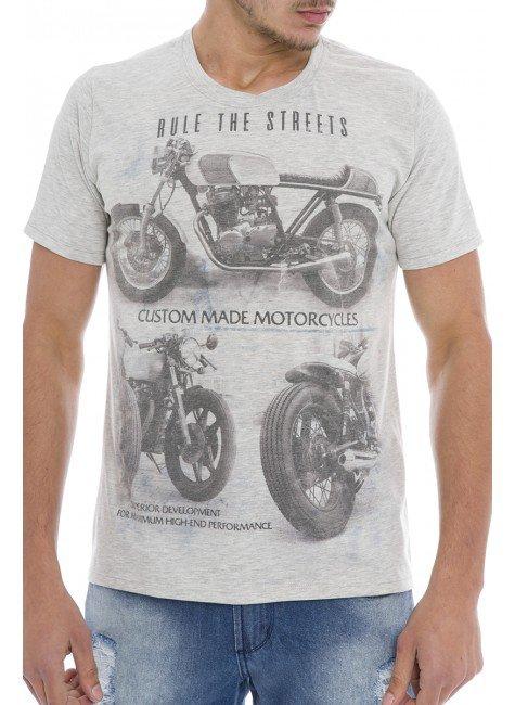 921901 Camiseta Masculina Mescla (Frente)