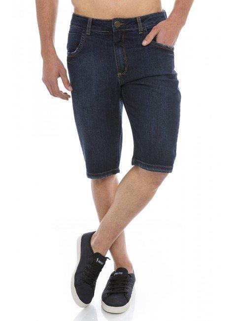 521916 Bermuda Jeans Masculina (Frente)