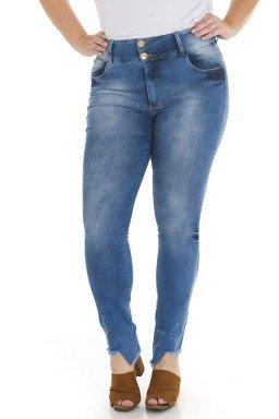 2119AR00 Calça Jeans Feminina Skinny Plus Size (Frente)