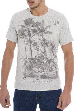 921902 Camiseta Masculina Mescla (Frente)