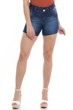 512005 Bermuda Meia Coxa Jeans Clochard (Frente)