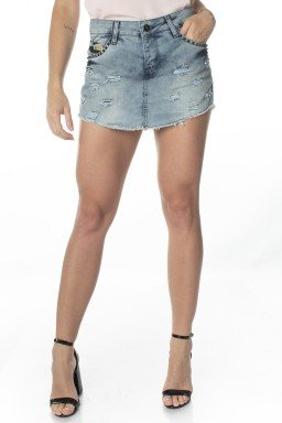 611613.003 Shorts Saia Jeans Destroyed  (Frente1)