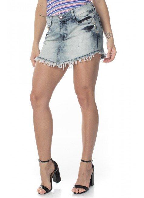 711516  Mini Saia Jeans Girl (Frente)