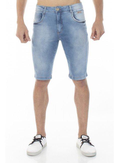1522006 Bermuda Jeans Masculina Estonada (Frente)