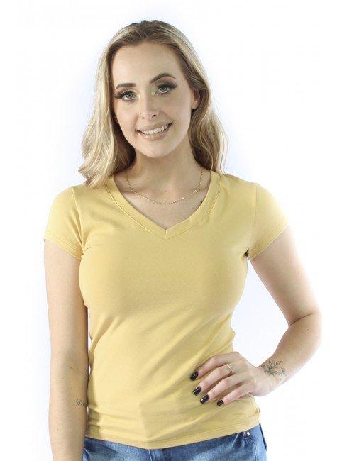 41112007007 Camisa Decote V Ecológica (Frente 2)