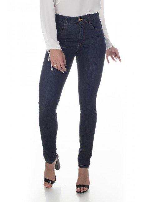 213000 Calça Jeans Feminina Skinny Escura (Frente 1)