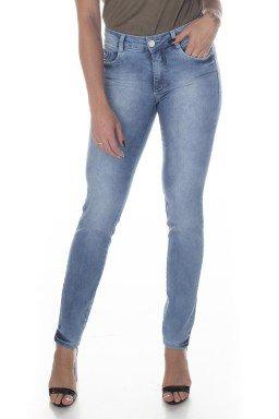 213007 Calça Jeans Skinny Feminina com Bolso Falso (Frente1)