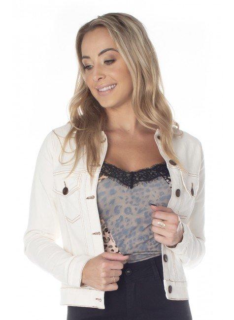 913011 Jaqueta Jeans Ecológica (Frente)