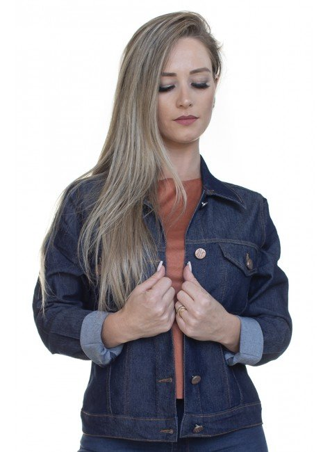 913017 Jaqueta Jeans (Frente)