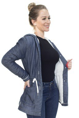 913020 Parka Jeans Forrada Peluciada (Lateral2)