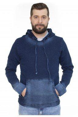922701 Casaco Jeans com Capuz (Frente)