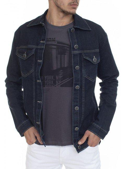 922603001 Jaqueta Jeans Masculina (Frente)
