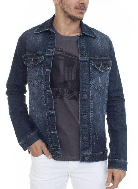 922603221 Jaqueta Jeans Masculina (Frente)