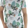 44222100006 T-shirt Masculina Estampa Costela de Adão (Frente)