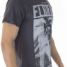 921903081 T-shirt Masculina Estampa Florida Cinza (Lateral)