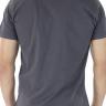 921903081 T-shirt Masculina Estampa Florida Cinza (Costas)