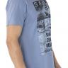 41222004004 T-shirt Masculina Estampa Sailor Azul (Lateral 2)
