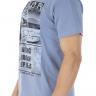 41222004004 T-shirt Masculina Estampa Sailor Azul (Lateral 1)