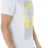 41222001002 T-shirt Masculina Estampa Eletronic Branca (Lateral)