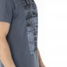 41222004081 T-shirt Masculina Estampa Sailor Cinza (Lateral)