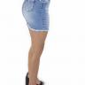 712107 Saia Jeans Cós Desfiado (Lateral 2)